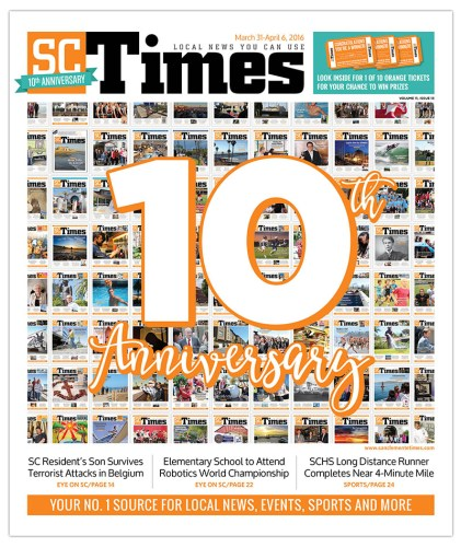 SC Times 10th anniversary issue