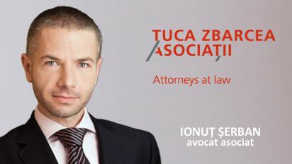 "avocat Ionut Serban - ""Tuca, Zbarcea & Asociatii"""