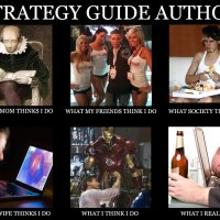 What a Strategy Guide Author Does Meme