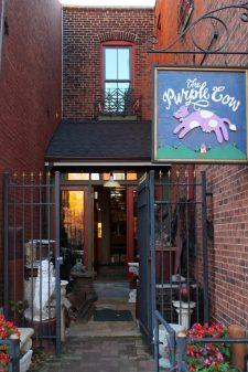 The Purple CowA wonderful antique shop on Cherokee street