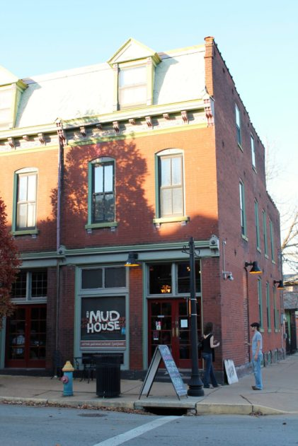 Mississippi Mud HouseBrings youthful energy, a warm vibe that's as much friendly-hipster as hipster-friendly, and great coffeehouse grub. http://themudhousestl.com Mississippi Mud House