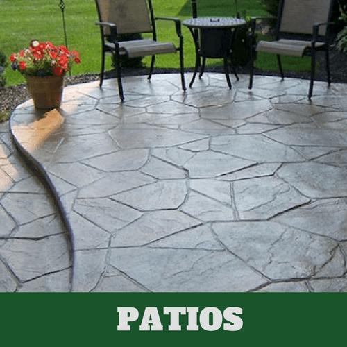 concrete patio patios danbury ct