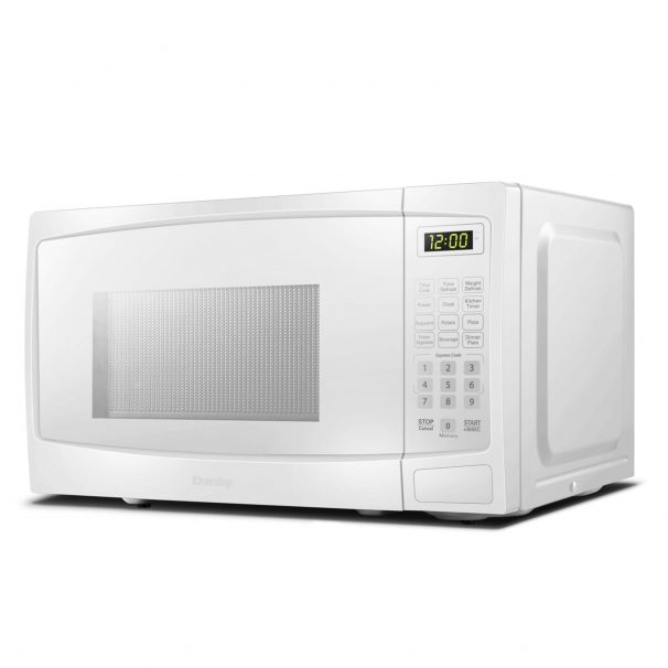 danby 0 7 cuft white microwave