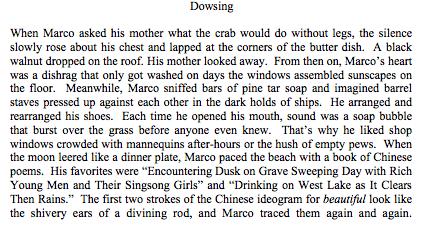 Dowsing, by Katharine Rauk