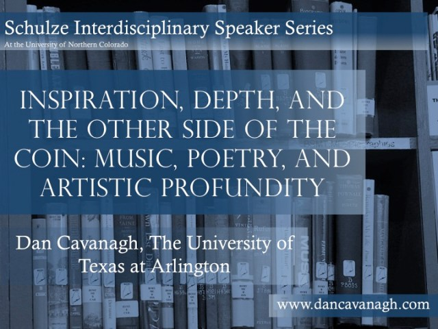 Inspriation, Depth and Artistic Profundity