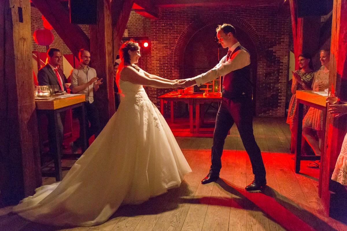 Openingsdans bruiloft Thijs en Veronique