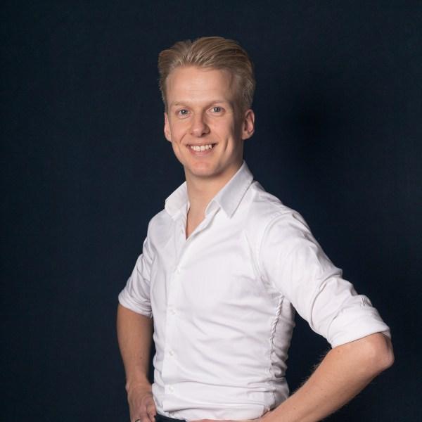 Joost Findhammer - dansleraar bij Dansschool Dance Fit