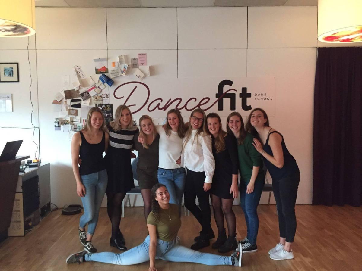 Workshop stijldansen voor Leidsch Dames Dispuut Aurora Asopos