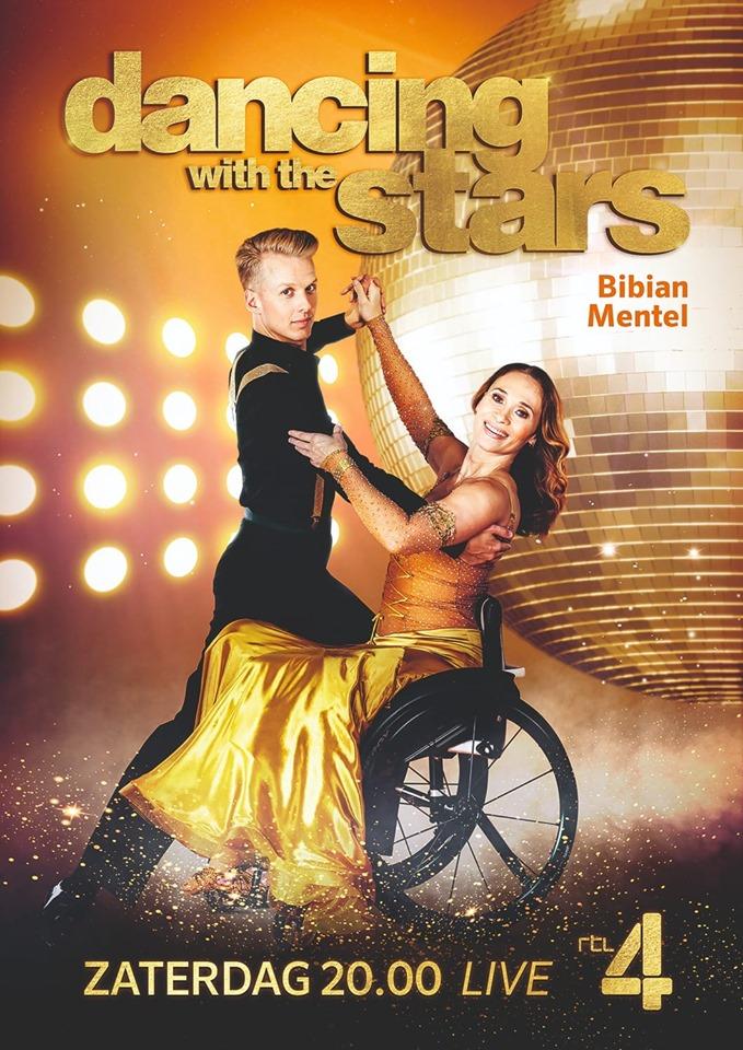 Joost Findhammer en Bibian Mentel bij Dancing with the Stars 2019