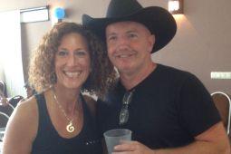 Kate Sala and Rob Fowler