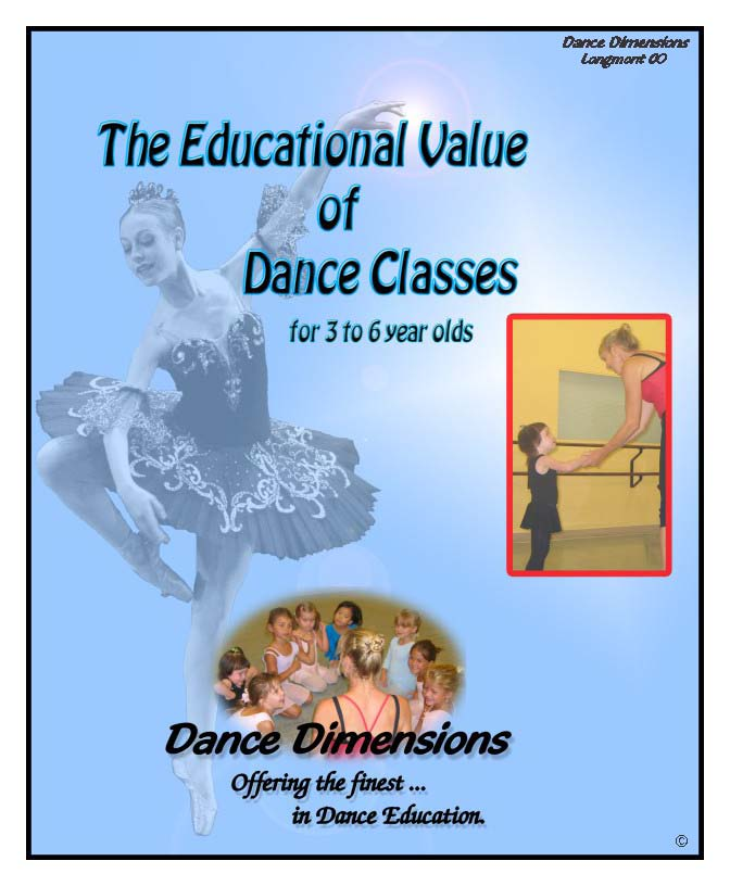 A short booklet about the value of dance for the 3 to 6 year old. Should load quickly.