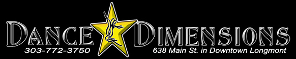 DANCE DIMENSIONS Logo