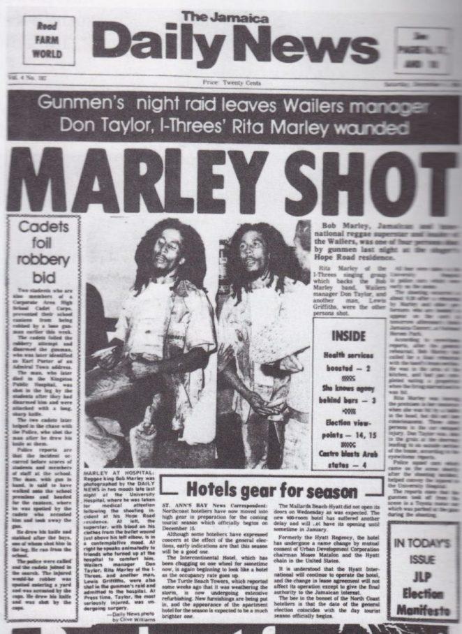 """""""Disparo de Marley"""""""