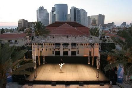 The Big Stage at Suzanne Dellal
