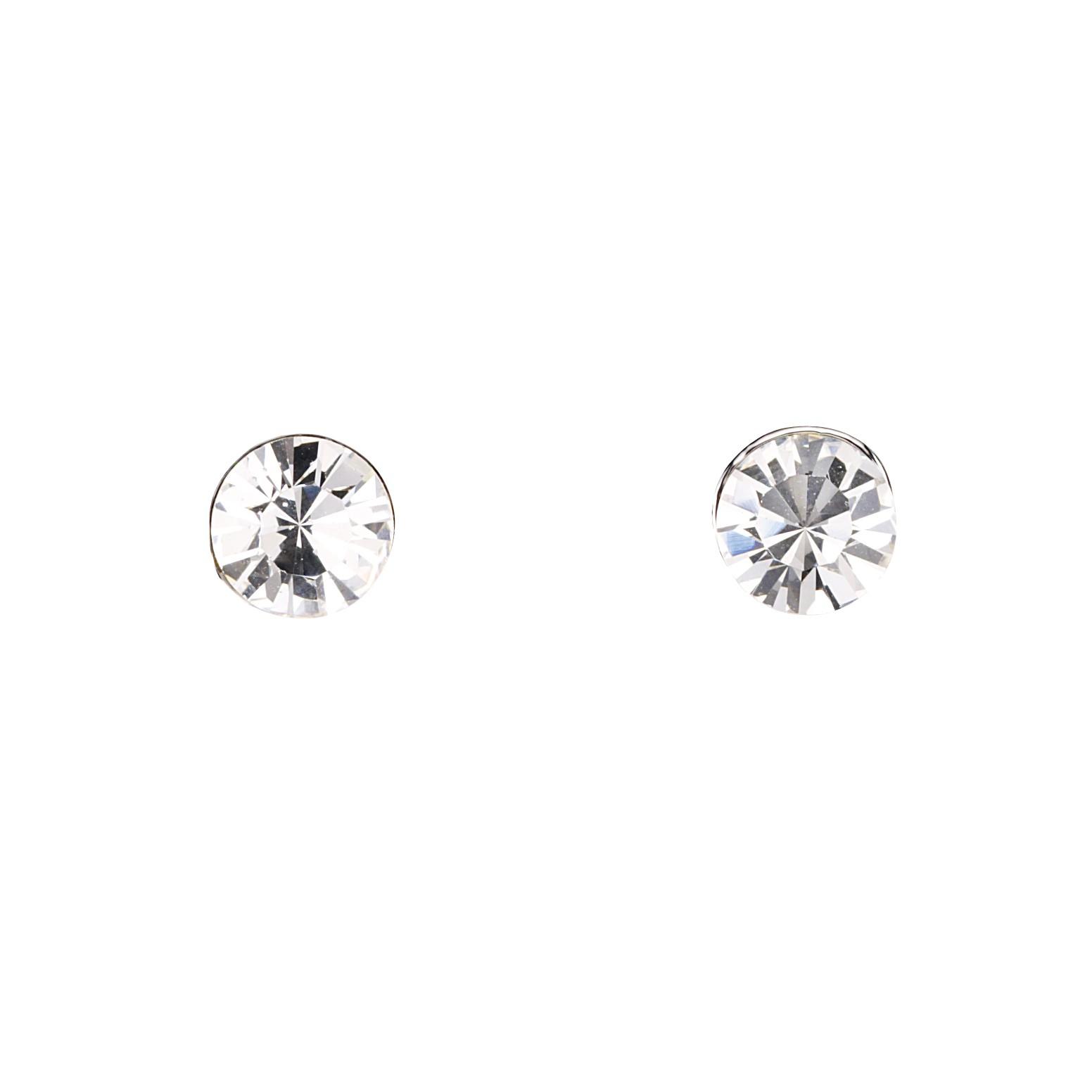 Earrings Stud Diamond Square Ear