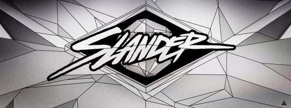 slander logo above & beyond love is not enough