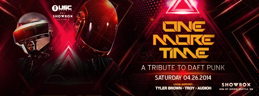 tribute to daft punk one more time seattle usc events