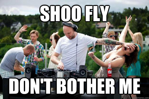 dont bother the dj