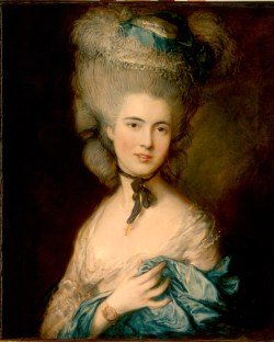 Gainsborough, 'A Woman in Blue'