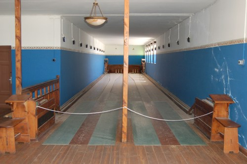 The town also boasted a bowling alley. ©Joachim Huber