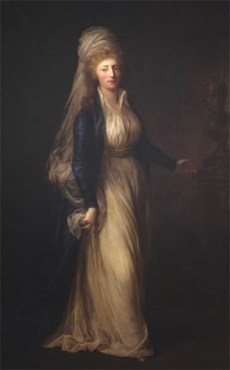 Princess Louisa Augusta in 1791: she bears a striking resemblance to Struensee