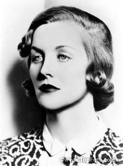 Diana Mitford, later Lady Diana Mosley