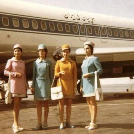 Iran Air hostesses
