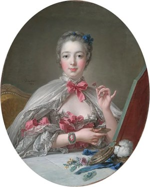 Madame de Pompadour at Her Toilette Boucher 1758