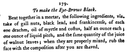 From 'The New London Toilet' (1778)