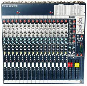 SOUNDCRAFTSPIRIT FX 16 II  Soundcraft SPIRIT FOLIO FX16