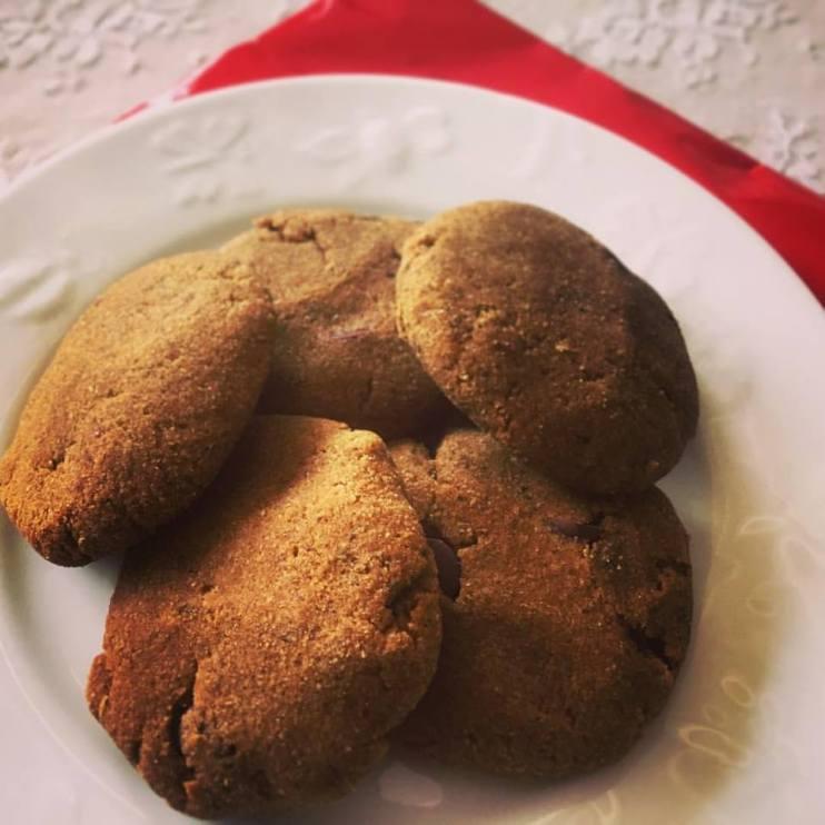 Pumpkin Spice Cookies (Vegan, Gluten-free)