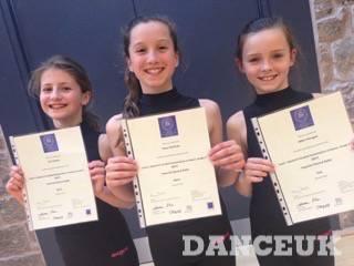Ballet Exam Success for Dance UK Pupils