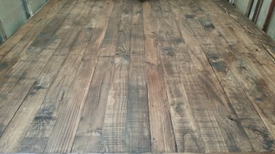 Interior Walnut stain for the floor