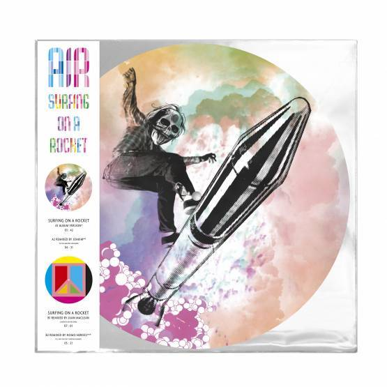 "AIR - SURFING 12"" picture disc (rsd19) LP"