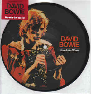 DAVID BOWIE - KNOCK ON WOOD...LP-S