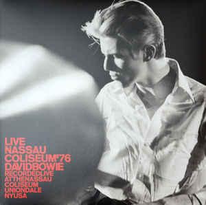 BOWIE DAVID - LIVE NASSAU COLISEUM 76...LP2