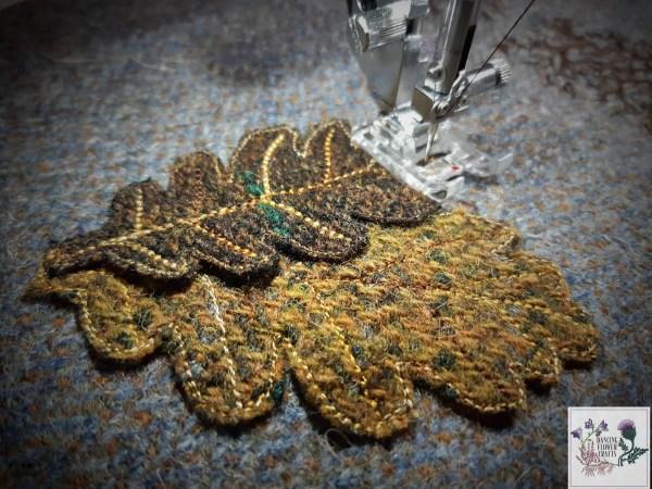 Harris Tweed embroidery