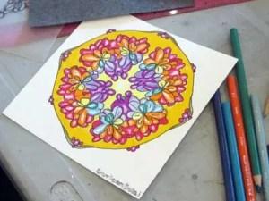 Colouring Circle