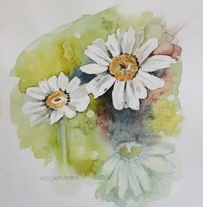 Sunny Daisies by CJ Shelton