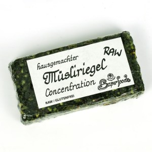 Super Müsliriegel Concentration