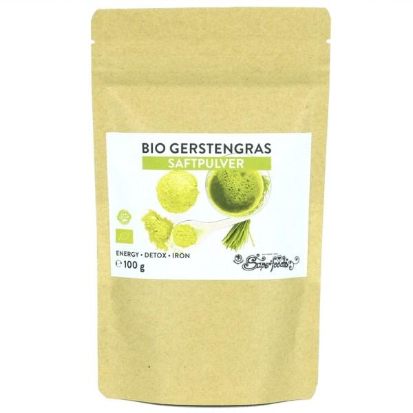 Gerstengras Saftpulver