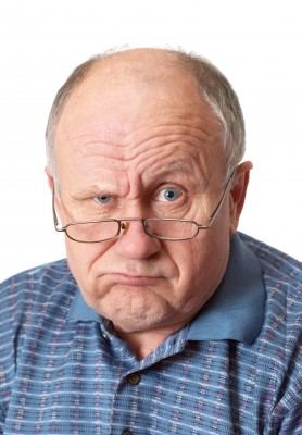 image of man's face with tough look on http://dancingupsidedown.com
