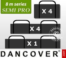 Carry bag package, marquee 8 m. series SEMI PRO