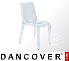 Chair, Cristal Light, Clear, 16 pcs.