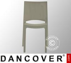 Chair, Sunshine, Glossy Pearl Grey, 6 pcs.