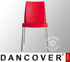 Chair, Boulevard, Red, 6 pcs.