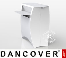 FLUX Counter, white