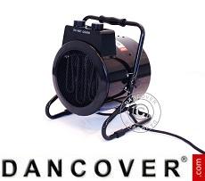 Electric Fan Heater/ Fan Tahiti, w/tilt function, 2000 W