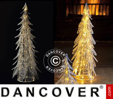 LED Christmas tree Siv, 46 cm, White