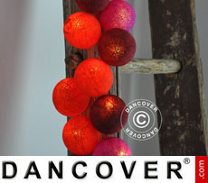 Happylights, 35 balls, red/violet
